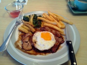 Loading Bay Chicken Chop with egg MYR 12.90